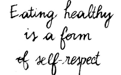 Healthy Eating Is A Form Of Self-Respect