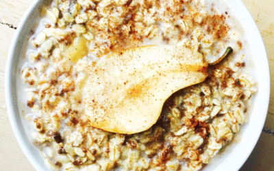 Pear & Cinnamon Autumnal Porridge