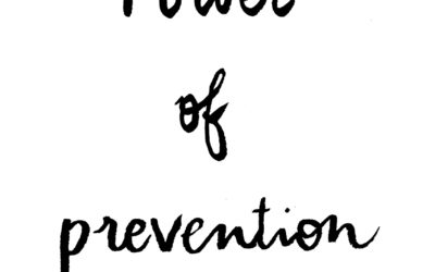 Cancer: The Power of Prevention
