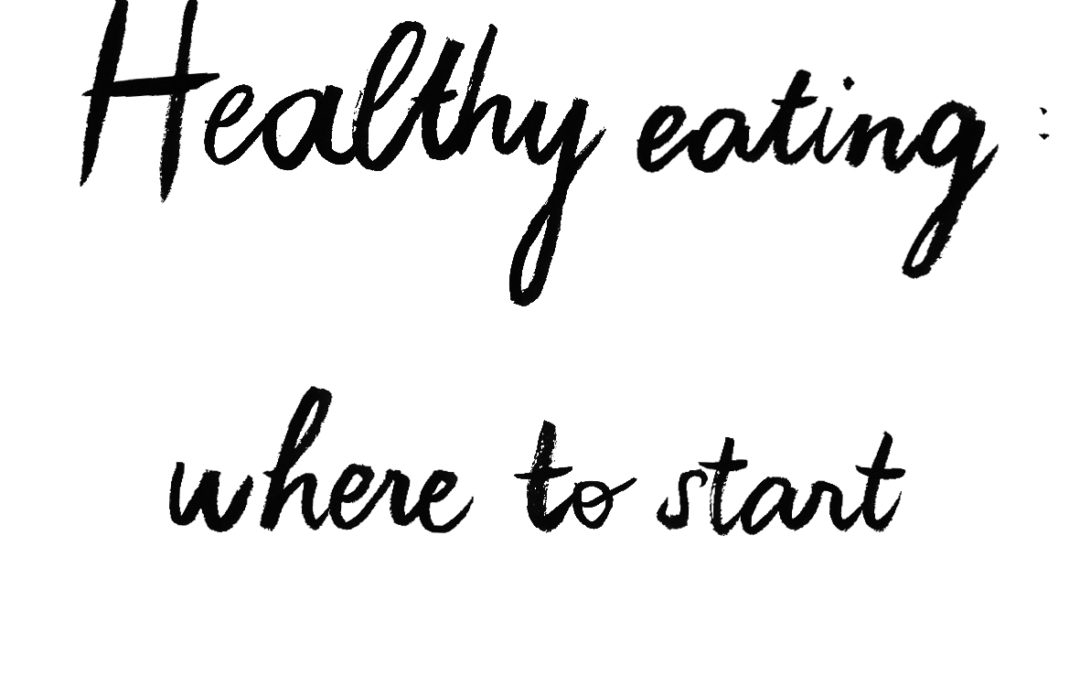 Healthy Eating: Where to Start